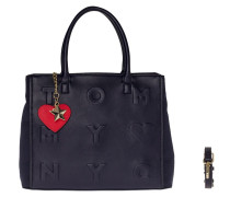 Logo Story Small Tote Tommy Navy Schultertasche AW0AW03829413