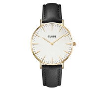 La Boheme Gold White/Black Uhr CL18406