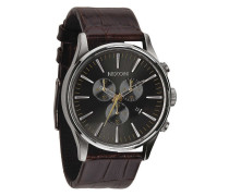 Sentry Chrono Leather Brown Gator Uhr A4051887