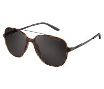 Maverick Sonnenbrille Matte/Shiny Black/Brown Grey 119/S