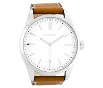 Timepieces Cognac/Weiß Uhr C7840 ( mm)