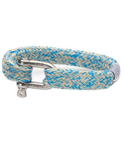 Gorgeous George Blue/Sand Armband P14-60204 (Länge: 15.50-16.00 cm)