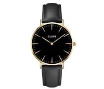 La Boheme Gold Black/Black Uhr CL18401