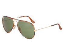 Aviator Sonnenbrille Gold RB3025JM 168/4E