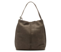 Shabbies Grain Leather Taupe Schultertasche 2330200023030-L
