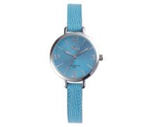 Jacky Coral Blue/Silver Uhr JA-09