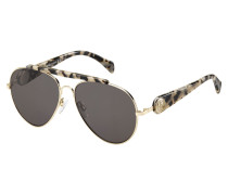 Gigi Hadid Gold Havana Sonnenbrille TH233609P7Z58NR-58