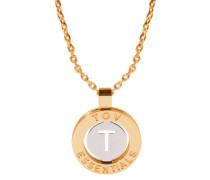 Iniziali Gold/Silver Armband 1806.002.003.T
