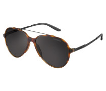 Maverick Sonnenbrille Matte/Shiny Black/Brown Grey 118/S