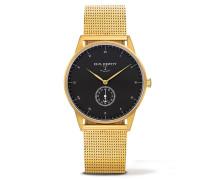 Signature Line Nautical Gold/Black Sea Metal Uhr PH-M1-G-B-4M