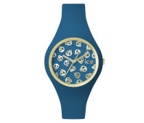 Ice-Skull Deep Water/Gold Small Uhr ICE.SK.DWR.S.S.15
