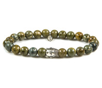 Silver Buddha Jaguar Armband 613