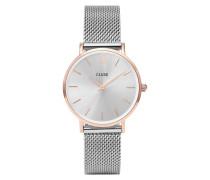 Minuit Mesh Rose Gold/Silver Uhr CL30025