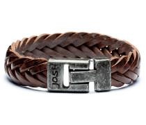 Vintage Black Brown Armband 24001-BRA-VB-BROWN-L-1 (Länge: 21.00 cm)