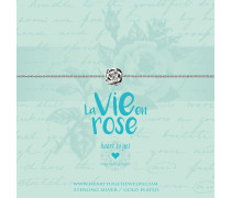 Rose Armband B362ROS17S (Länge: 16-18 cm)