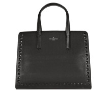 Georgia Black Stud/Dusty Pink Handtasche PBN126741