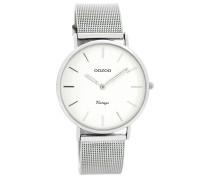 Vintage Uhr Silber/Weiß C7728 ( mm)