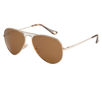 Rivera 15-3 Brown/Crystal Brown Tips Sonnenbrille