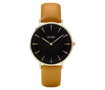 La Boheme Gold Black/Mustard Uhr CL18420