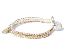 Divali Beads White Armband WBS-0133 (one size)