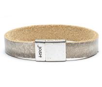 Silver Beige Armband 18444-BRA-BEIGE-S (Länge: 18 cm)