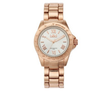 Tiffany Rose gold/Silver Uhr TF-02