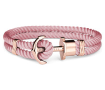 Phreps Anchor Rose Gold Nylon Aurora Armband PH-PH-N-R-A (Länge: 19.00 cm)