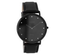 Vintage Schwarz Uhr C7781 (40 mm)