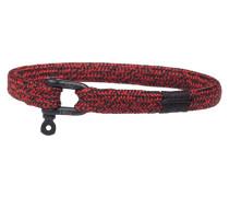 Vicious Vik Black Red Armband P19-90404-L (Länge: 19.50-20.00 cm)