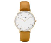 La Boheme Gold White/Mustard Uhr CL18419