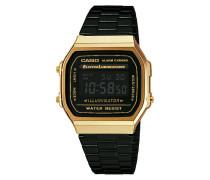 Basic Retro Uhr A168WEGB-1BEF