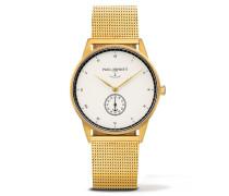 Signature Line Nautical Gold/White Ocean Metal Uhr PH-M1-G-W-4M
