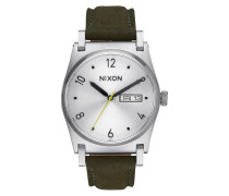 Jane Leather Silver Uhr A9552232