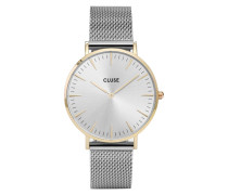 La Boheme Mesh Gold/Silver Uhr CL18115