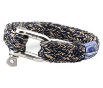 Fat Fred Navy/Sand Armband P01-63204 (Länge: 19.50-20.00 cm)