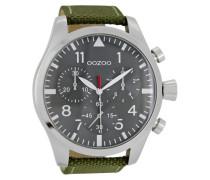 Timepieces Uhr DunkelGrun/Grau C6792 ( mm)