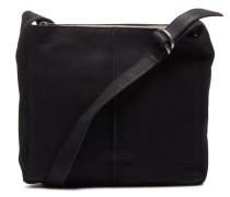 Trend Medium Waxed Grain Leather Black Umhängetasche 2620200090001-M