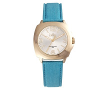 Chris Pacific Blue/Gold Uhr CH-04