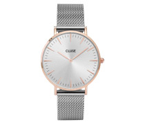 La Boheme Mesh Rose Gold/Silver Uhr CL18116