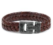 Vintage Black Brown Armband 24684-BRA-VB-BROWN