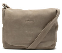 Shabbies Grain Leather Taupe Schultertasche 2320200013026-M