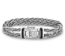 Ketut Double Stone Onyx Armband 078 (Länge: 19.00 cm)