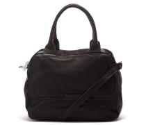 Shabbies Grain Leather Black Handtasche 2120200010001-M