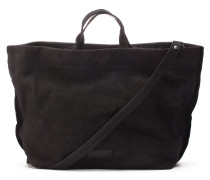 Shabbies Grain Leather Black Handtasche 2420200010001-L