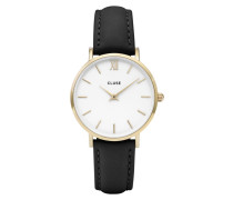 Minuit Mesh Gold White/Black Uhr CL30019