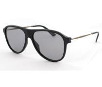 Sonnenbrille Black/Chocolate GG1058/S 3LV