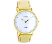 Vintage Braun/Weiß Uhr C7780 ( mm)