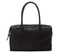 Buffed Leather Black Handtasche 2120100030003-M