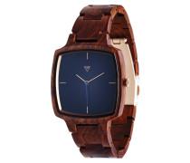 Hans Rosewood Copper Uhr