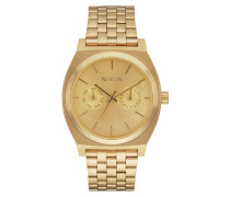 Time Teller Deluxe Gold Uhr A922502